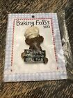 BOYDS BEARS MAGNET Baking F.O.B's 2013 Collectors Club Magnet