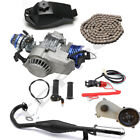 49cc 50cc Big Bore 2 Stroke Engine Motor Kit Gearbox Scooter Pocket Dirt Bike
