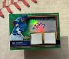 2011 Topps Finest ERIC HOSMER RC AUTO Green Refractor # 149 AUTOGRAPH Relic