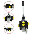 13GPM Hydraulic Directional Control Valve Tractor Loader w Joystick 1 Spool