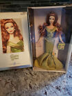 Birthday Wishes Barbie Green Dress Redhead Silver Label 2004 Collector