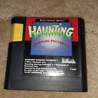 Haunting Starring Polterguy Sega Genesis 1993 Authentic Tested