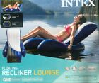 Intex Inflatable Floating Lounge Pool Recliner Lounger Chair with Cup Holders