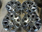 4 Ford F250 Factory 20 Wheels 05 21 F350 Super Duty OE 414J PVD Chrome