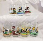 Welchs Jelly Glasses W Peanuts Characters