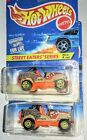 VARIATION RARE ROLL PATROL JEEP HOT WHEELS STREET EATERS SERIES SAW BLADE WHEELS
