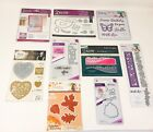 Lot of 9 Crafters Companion Diesire Metal Dies Butterfly Border Heart NEW