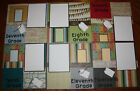 School premade scrapbook layout pages set of 6 pages 7th grade 12th handmade