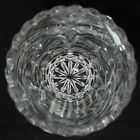 Amazing Small Crystal Glass Vase 7 Tall No Box
