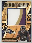 TERRELL SUGGS 2018 PANINI GOLD STANDARD GOLD GEAR PATCH RAVENS 28 49