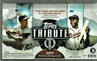 2019 TOPPS TRIBUTE BASEBALL FACTORY SEALED HOBBY BOX 3 ON-CARD AUTOS 3 RELICS