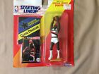 Starting Lineup Clyde Drexler poster 1991 (?) and card IN PACKAGE