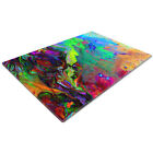 Glass Chopping Cutting Board Work Top Saver Large Colourful Retro Cool Funky