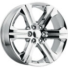 22 GMC Replica Rims Chrome Wheels Fit Tahoe Sierra Yukon Silverado Denali G13