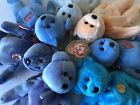Lot of 7 Beanie Babies Rare Collection Clubby II,America,Classy,Flaky,Periwinkle