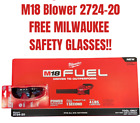 Milwaukee 2724 20 M18 FUEL Blower Tool Only Brand New W Free Safety Glasses