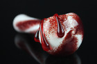 45 Glass Pipe Dexter Blood Spatter Bowl Hand Pipes Tobacco