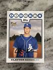 Clayton Kershaw Rookie Cards and Autograph Memorabilia Guide 25