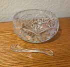 Crystal Bowl Beautifully Cut Vintage Antique