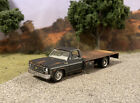 1975 Chevy Flatbed Dually Custom Built Weathered Rusty 1 64 Diecast