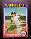 Top 10 Thurman Munson Baseball Cards 22