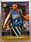 2004-05 Upper Deck Allen Iverson Game Jersey Patch 76ers Logo SP 1:5000 Packs