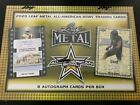 2020 Leaf Metal All American Bowl Football Hobby Box Free Priority Shipping