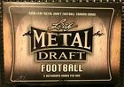 2020 Leaf Metal Draft Football Hobby Box small ripped Wrapper **Please Read**
