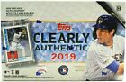 2019 Topps Clearly Authentic Baseball Sealed HOBBY Box-Encased ON-CARD AUTO