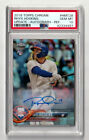 2018 Topps Chrome Update #HMT28 Rhys Hoskins RC Auto PSA 10 Refractor Autograph