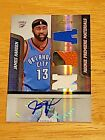 2009-10 Absolute Memorabilia James Harden RC Rookie Jersey Ball Patch AUTO 499