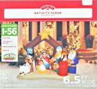 Holiday Time 65ft Nativity Scene Inflatable new in box