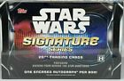 2021 Topps Star Wars Signature Series Sealed Hobby Box - 1 Encased Autograph 🔥