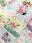 5 Little Darlings Pre cut QUILT KIT Baby or child In Pink