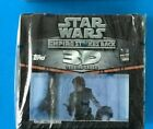 STAR WARS TOPPS EMPIRE STRIKES BACK 3D WIDEVISION SEALED BOX A