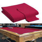 Fast Speed Pre Cut Billiard Cloth Pool Table Felt With 7 8 Or 9 Table Red