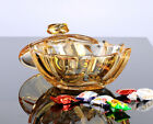 Crystal Candy Box Bowl Golden Style For Sugar Chocolate Nuts Home Lead Free US