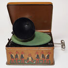 Bing Pigmyphone tin toy Phonograph Gramophone Grammophon including toy records