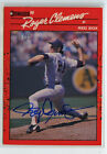 ROGER CLEMENS Auto 2021 Donruss Buyback Recollection 1990 On Card Autograph 21