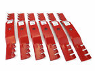 6 Reaper 50 Toothed Mulching Blades for Cub Cadet 742 04053 Made in USA