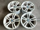 BMW 20 STAGGERED SET M SPORT ALLOY RIMS F01 F07 5 7 SERIES 09 15 PAINTED WHITE