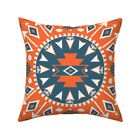 Arrows Navajo Native American Throw Pillow Cover w Optional Insert by Roostery
