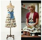 Anthropologie Maeve Strapless Butterfly Dress Size 10 158