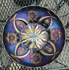 German Four Flowers Variant from Dugans Glass Carnival 10 Bowl 1905 06