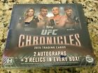 2015 Topps UFC Chronicles Hobby Box Brand New Free Priority Shipping
