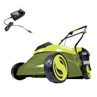 14 In 28 Volt Cordless Walk Behind Push Mower Kit With 40 Ah Battery + Charger