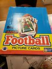 1989 TOPPS Football Rack Pack Box (24) deion & many stars unsearched nice !