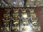 Racing Champions Nascar Diecast 164 24k Gold Plated Lot of 8