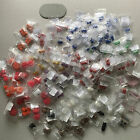 Huge Lot of Metal Mesh Beads For Jewelry Big Large Hole DIY Making Please view