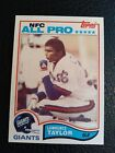 1982 Topps 434 Lawrence Taylor LT HOF rookie card RC centered NM+ sharp beauty!